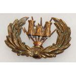 Electrician Sergeants Engineer Cap Badge