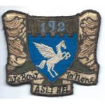 192nd Assault Helicopter Company Pocket Patch Vietnam