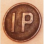 Intelligence Police Enlisted Collar Disk