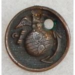 Marine Corps Enlisted Collar Disc / Dog Tag Charm