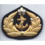 Japanese Naval Officers Cap Badge
