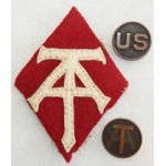 5th Ammunition Train Insignia Set