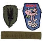 170th ASHC Disney Design HOOKS Patch Group Vietnam
