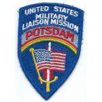 ASMIC Occupation Period US Military Liaison Mission Potsdam Patch