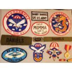 Vietnam Gia Dinh Provisional Recon Unit Pocket PatchIdentified SOG members Insignia Group