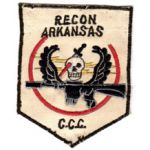 Recon Team Arkansas Pocket Patch Vietnam