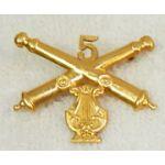 5th Artillery Band Detachment Collar Device