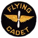Super Hard To Find Pre-WWII CPT Flying Cadet Patch