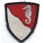 ASMIC WWII 36th Engineer Brigade Theatre Made Patch
