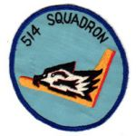 514th Fighter Squadron Patch SVN ARVN