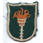 Korean Communications Zone Second Type Theatre Made Patch