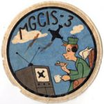 Marine Ground Controlled Intercept Squadron 3 Squadron Patch