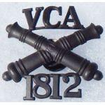 Veteran Corps Of Artillery 1812 Cap Badge