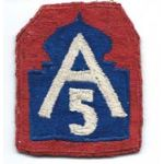 5th Army Japanese Made Patch