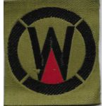 WWI 164th Field Artillery Brigade 89th Division LIberty Loan Patch