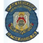 38th Air Rescue Squadron Theatre Made Squadron Patch