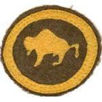 92nd Division Calvary Troops Patch
