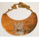 1970's Rhodesian Native Department Internal Affairs Chief's Gorget