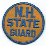 WWII New Hampshire State Guard Patch