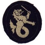 ASMIC Philippine Department Silk Woven Reverse Direction Patch