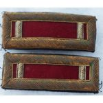 1920's-30's Medical Corps 1st Lieutenant Bullion Dress Shoulder Boards