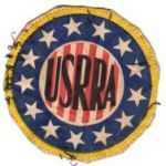 ASMIC WWII US Riviera Recreation Area Shoulder Patch