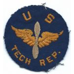 ASMIC WWII AAF Tech Rep Theatre Made Patch