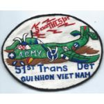 51st Transportation Detachment Pocket Patch Vietnam