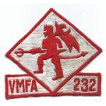 Vietnam Era US Marine Corps VMFA-232 Squadron Patch