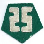 Republic Of Korea / South Korean Army 25th Division Patch