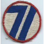 Late 1940's -50's 71st Division Japanese Made Patch