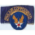ASMIC WWII AAF 2nd Air Commando Patch