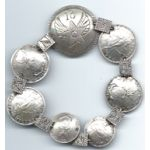 WWII 13th Air Force Philippine Coin Bracelet