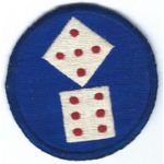 Occupation - Early 1950's 11th Corps Patch