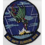 1950's-1960's US Navy Air Anti-Submarine Squadron 934 Squadron Patch