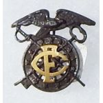 1917 Proposed Field Clerk Quartermaster Collar Device