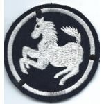 1950's-1960's Republic Of Korea / South Korean Army 9th Division Patch
