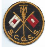 WWII Signal Corps General Signal School MIT / Massachusetts Institue Of Technology Sleeve Patch