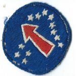 WWII - Occupation Period Pacific Area Command Silk Woven Patch