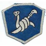 ASMIC WWII - Occupation Period 158th Regimental Combat Team BUSHMASTERS Theatre Made Patch