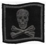 1950's US Navy VF-84 JOLLY ROGERS Bullion Squadron Patch