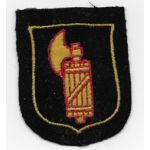 WWII Italian Volunteers To SS Sleeve Patch