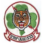 Vietnam Era US Marine Corps VMF (AW)-333 Squadron Patch