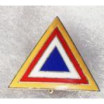 ASMIC 1950's Training Realtions Indochina Mission Pocket Badge