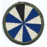 WWII 11th Ghost / Phantom Division Patch
