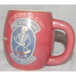 Korean War US Air Force 13th Bomb Squadron 1950's Unit Mug
