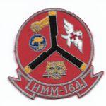 Vietnam Era US Marine Corps HMM-164 Squadron Patch