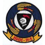 Vietnam Era US Marine Corps HMM-165 Theatre Made Squadron Patch