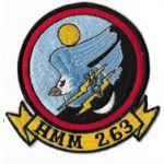 Vietnam Era Us Marine Corps HMM-263 Squadron Patch