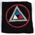 WWI Frnech Made 39th Division patch